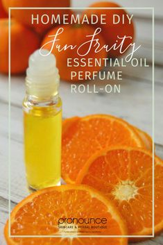 DIY Fun Fruity Essential Oil Perfume Roll-On Recipe • pronounceskincare.com