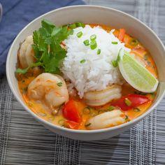 Shrimp Recipes, Soup Recipes, Cooking Recipes, I Love Food, Good Food, Yummy Food, Tasty, Thai Shrimp Soup, Thai Cuisine