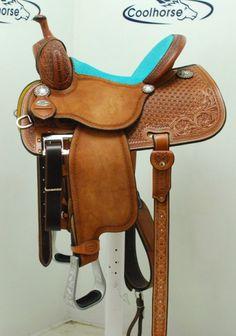 "Coolhorse New! 13.5"" Crown C Barrel Saddle 8"" Gullet by Martin Saddlery"