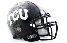 TCU Football Helmet. ~EVWarlords