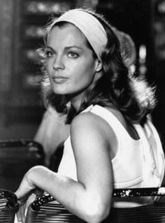 Romy Schneider... as a child I loved this actress, specially in the movie Sissi