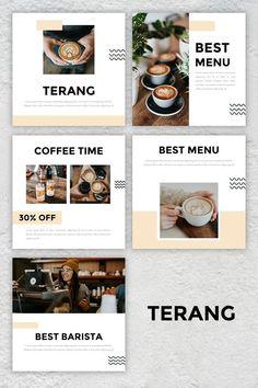 Poster Design Layout, Food Poster Design, Creative Poster Design, Food Menu Design, Web Layout, Instagram Feed Ideas Posts, Instagram Feed Layout, Instagram Design, Organizar Feed Instagram