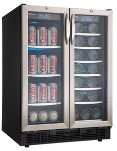Danby Silhouette Beverage And Wine Cooler DBC2760BLS