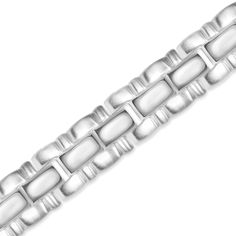 Ebay NissoniJewelry presents - Stainless Steel High Polish Middle Gents Bracelet    Model Number:BRV1806-ST    http://www.ebay.com/itm/Stainless-Steel-High-Polish-Middle-Gents-Bracelet-/322049485877