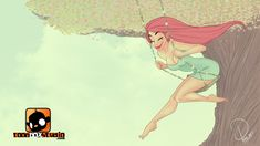 Cherry Pinup : Swinging Fun by ToonBoxStudio.deviantart.com on @DeviantArt