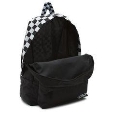 1627565681 Sporty Realm Backpack XA3J0Z Black Checker #Vans