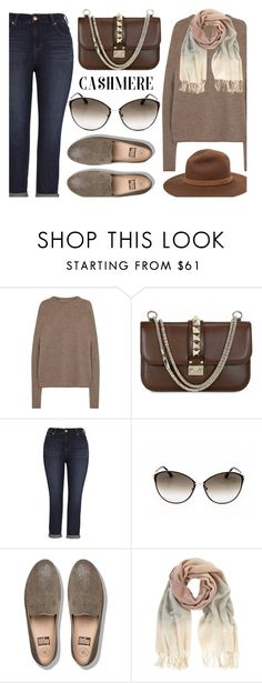 """Comfy Outfit"" by smartbuyglasses ❤ liked on Polyvore featuring Rick Owens, Valentino, Melissa McCarthy Seven7, Tom Ford, FitFlop, Mint Velvet, rag & bone, brown, beige and cashmere"
