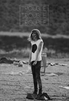 I knew you were trouble when you walked in... — Taylor Swift