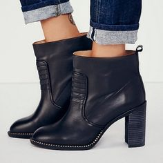 Free people booties McCall heel boot Free People Shoes Ankle Boots & Booties