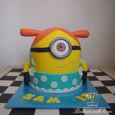 Minion taart