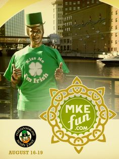 VISIT Milwaukee followers who re-pin this image by Friday, August 10, at 5 p.m. (CST) are entered to win a four-pack of tickets to Irish Fest! #MKEFun