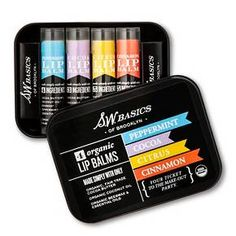 S.W. Basics Organic Lip Balm Flight - 4 pack