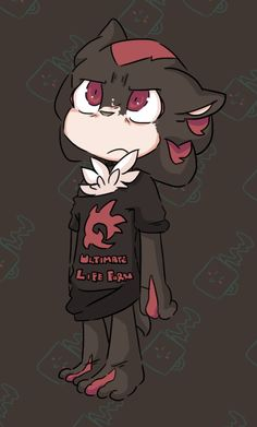 I don't normally post Shadow, but this portrays him as a moody yet adorable teen... and I'm dying here.