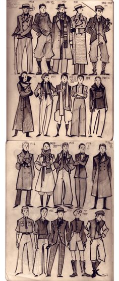 men/s 1920s fashion by phobs.  I love Phobs to a point where it may be a problem.