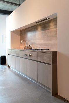 Modern luxury kitchen minimal sophisticated interior design by Piet Boon