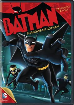 BEWARE THE BATMAN: SHADOWS OF GOTHAM DVD