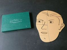 Vintage Wood Psychological Object Assembly Test by lamanastronaut