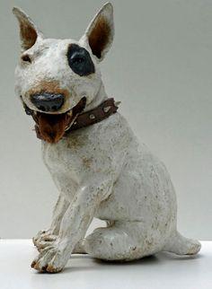 inspiration: Ceramic Dog - Joanne Cooke