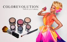 Colorevolution Eyeshadow | RuPaul's Drag Race Online: colorevolution mineral makeup