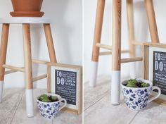 Inspire Me Pretty | DIY : tabouret scandinave | http://inspiremepretty.com