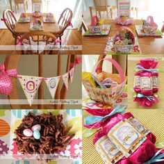 Easter and Spring decorations and treats