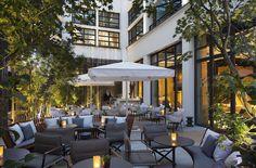 Les belles terrasses de l'été 2017  patio du Cinq Codet  Restaurant