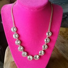 Jcrew necklace Worn once, mint condition J. Crew Jewelry Necklaces