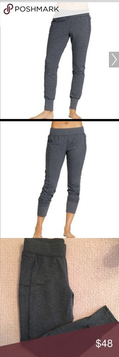 Calia Gray joggers by Carrie underwood. Beautiful soft and substantial material.  Polyester rayon and spandex.  Will not stretch out when u wear them. Worn twice. Perfect condition! CALIA by Carrie Underwood Pants Track Pants & Joggers
