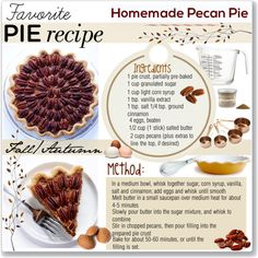 """""""Pie Recipe"""" by smile-736 on Polyvore"""