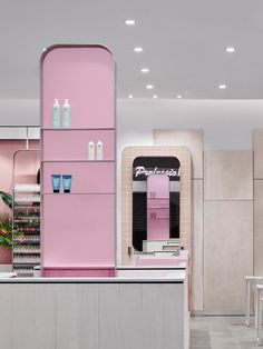 Nail salon in Sydney, Australia. Interiors by Jason Byrne Design, photography by Justin Alexander. Modern Nail Salon, Cosmetic Shop, Retail Interior, Retail Space, Design Awards, Retail Design, Store Design, Design Projects, Salons
