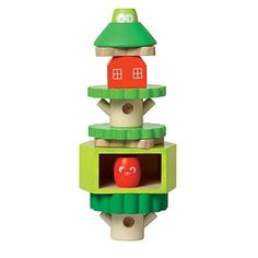 Manhattan Toy Treehouse Wooden Stacker  Block Set * For more information, visit image link. #WoodenToys