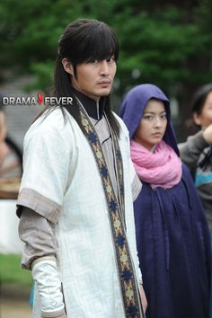 Faith, the great doctor  - Philip Lee and Park Se Young as Queen No-Gook #Kdrama 2012