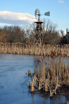 Winter windmill...