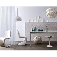 Buy Flos Tatou Pendant, Regular, White Online at johnlewis.com