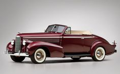 1938 LaSalle Custom Convertible Coupe