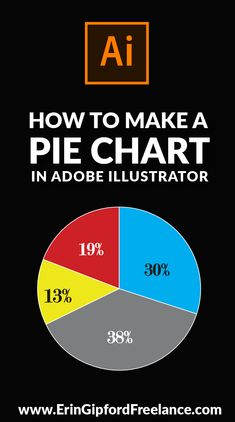 I recently had to create some pie charts for a flyer that I had to create for one of my clients. First, I tried drawing it the old fashioned way (which didn't go well!), and then I thought, you know what? I'm going to google this because I am almost positive there is a super easy way to create a pie chart (and other charts) within Illustrator. I was correct! There is! In the video below I will walk you thru it... #adobeillustra