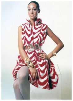 Marisa Berenson. by Bert Stern. Vogue 1970
