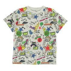 Arrow Comic T-Shirt Stella McCartney Kids Teen Children- A large selection of Fashion on Smallable, the Family Concept Store - More than 600 brands.