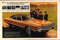 1971 Mercury Marquis Brougham Advertisement Time Magazine September 27 1971 | by SenseiAlan