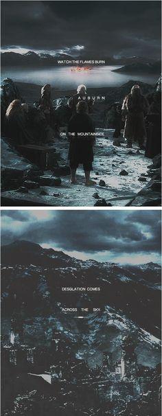 and I see f i r e #thehobbit