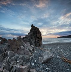 *Djúpalónssandur beach is an awesome place, like so many other places on the Snæfellsnes peninsula. It is like stepping into a lava wonderland with a series of rocks of mysterious form emerging from the ocean...