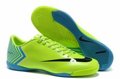 34d02da9ffa Latest Listing Discount Fluorescent yellow black Nike Mercurial Vapor X IC  Football Shoes For SaleFootball Boots For Sale