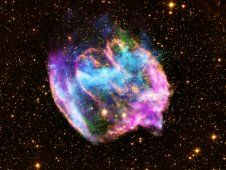NASA's Chandra Suggests Rare Explosion Created Our Galaxy's Youngest Black Hole