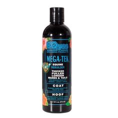 Mega-Tek Cell Hair Rebuilder 16 Oz by EQyss. $26.99. Great for bare spots caused by blanket and halter rubs. Reduces hair breakage and makes hair grow thicker, fuller, longer and faster. horse journal product of the year. Amazing results! Accelerates hair regrowth on bare spots caused by equipment and blanket rubs, skin conditions or injuries. Great for lengthening manes & tales. Makes hair stronger reducing breakage.