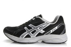 Mens Asics Gel Maverick 2 Black Slivers Shoes