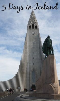 A sample itinerary for spending five days in Iceland including where to stay, where to eat and what to do.