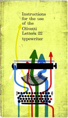 Olivetti Lettera 22 typewriter instruction manual