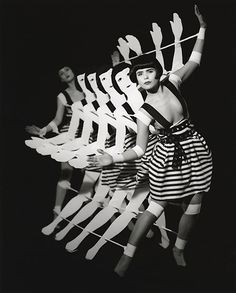 Short experimental dance film Tingel Tangel by Kathryn Ferguson combines two dancers and a wooden dance machine built to parody the Busby Berkeley style chorus lines of the 1920′s. Dancers and choreographers are performers Paloma Faith and Beatrice Brown.