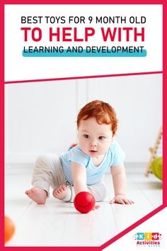 Best Toys For 9 Month Old To Help With Learning And Development! Baby activities 1 year, baby activities 9-12, baby activity board, 6 month baby activities, 0 3 months baby activities, baby activities 3-6, baby activities 0-3 newborns, 3month old baby activities, diy baby activities, outdoor baby activities, Summer baby activities, stimulating baby activities. #babyactivities6-12months #babyactivityboard #6monthbabyactivities #babyactivities3-6 #diybabyactivities #outdoorbabyactivities