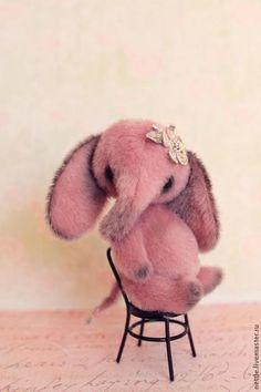 Teddy baby elephant / Мишки Тедди ручной работы. Ярмарка Мастеров - ручная работа. Купить Слоня цвета пыльной розы.... Handmade. Бледно-розовый